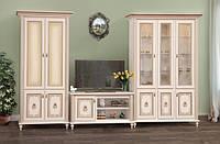 Світ Меблів Парма гостиная комплект №3 2072х3456х540мм прованс белый