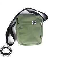 Сумка на плечо: White Sand Messenger Bag Цвет Olive