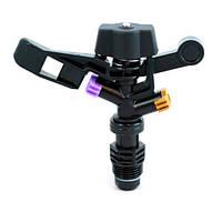Ороситель Фрегат RS 5022-2, черный пластик, поворот на 360°, резьба ½, орошение 18-25м