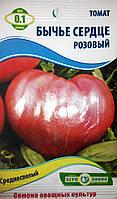 Семена томата сорт Бычье сердце розовый 0,1гр ТМ Агролиния