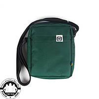 Сумка на плечо: White Sand Messenger Bag Цвет Green