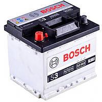 Аккумулятор BOSCH S3 44Ah-12v (207x175x190) левый +