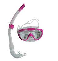 Набор для плавания детский маска и трубка Speedo Glide
