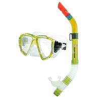Набор для плавания маска и трубка ZP-24621-PVC