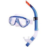 Набор для плавания маска и трубка ZP-24822-PVC