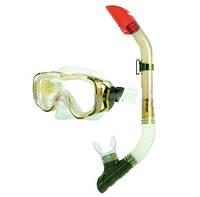 Набор для плавания маска и трубка ZP-25128-PVC
