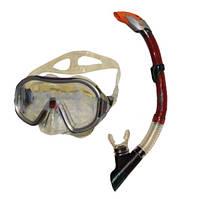 Набор для плавания маска и трубка ZP-26542-PVC