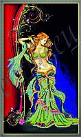 Схема для вышивания бисером Искушение богини КМР 3087