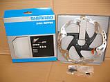 Гальмівний ротор Shimano XT SM-RT86-L 203 мм Ice-Tech, фото 2