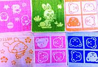 Детская махровая салфетка