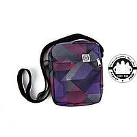 Сумка на плечо: White Sand Messenger Bag Цвет Purple Square