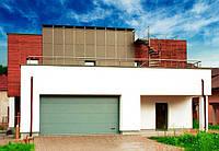 Секционные гаражные ворота ALUTECH.