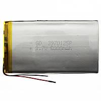 Аккумулятор литий-полимерный 3970125P 3.7V 5000mAh