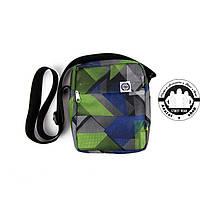 Сумка на плечо: White Sand Messenger Bag Цвет Square Green