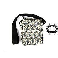 Сумка на плечо: White Sand Messenger Bag Цвет Cross White