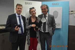 """Луіджино Іллесі (BAXI SpA, Італія) - главный инженер завода """"BAXI SpA"""" в Италии."""