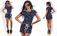 Женское платье туника Звезда