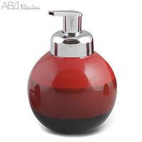 Дозатор для жидкого мыла, AWD, Польша,  (Набор в ванную, коллекция Reds)
