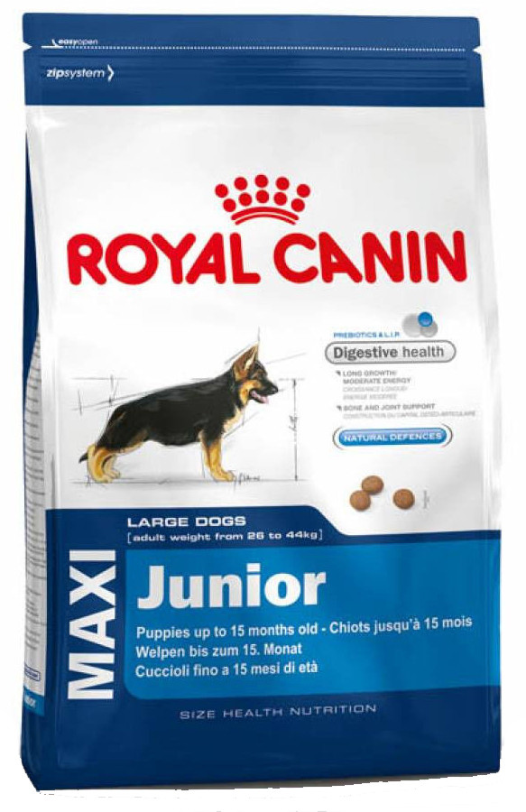 Корм для молодых собак крупных пород Royal Canin Maxi Junior
