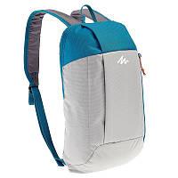Рюкзак 10 Л серо синий (городской, легкий и велосипедный )