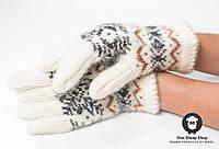 Шерстяные перчатки , фото 1