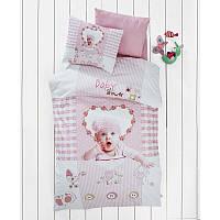 Комплект постельного белья в детскую кроватку. 3D фотопечать. Турция, 100% хлопок.