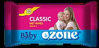 Влажные салфетки Ozone N детские Календула и витамин Е, 72 шт