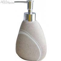 Дозатор для жидкого мыла, AWD, Польша,  (Набор в ванную, коллекция Rock)