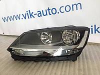 Фара Volkswagen Sharan рестайл обычная левая сторона