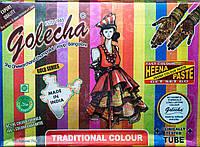 Хна для тела цветная Golecha упаковка