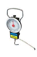 Весы рыбацкие до 25 кг с измерительной рулеткой
