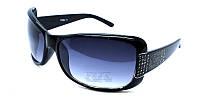 Черные солнцезащитные очки для девушки