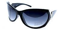 Черные модные очки от солнца