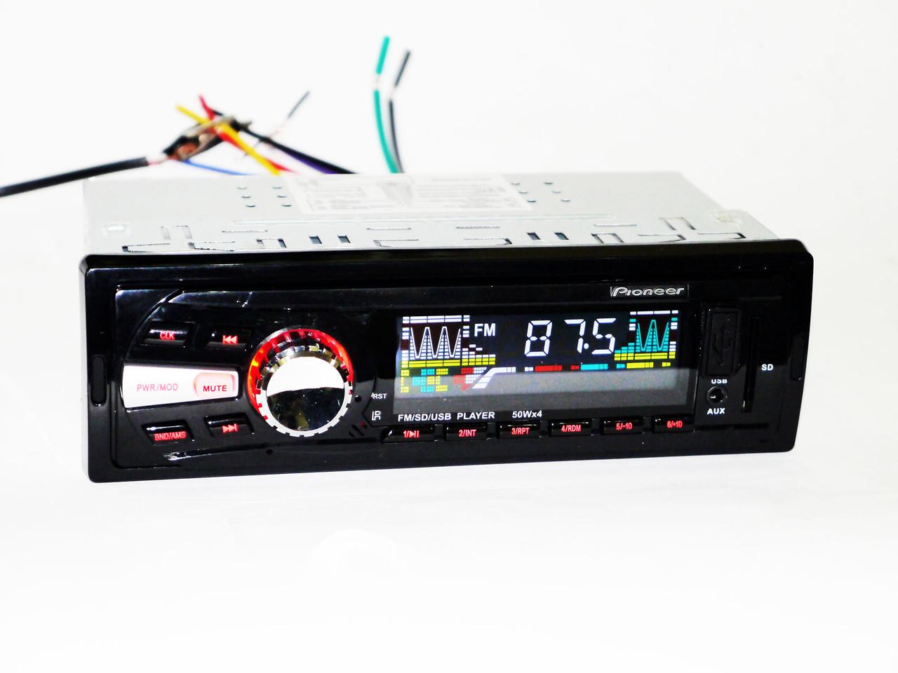 Автомагнитола Pioneer 6241 MP3/SD/USB/AUX/FM