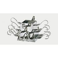 Стойка фуршетная на 24 ложки и 20 шпажек APS (в комплекте с ложками)
