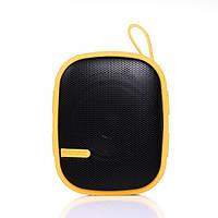Колонка Remax Bluetooth 3.0 Speaker X2-Mini, желтый