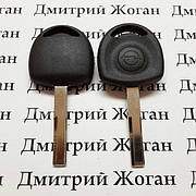 Ключ для Opel (Опель) лезвие HU43P, с чипом ID40
