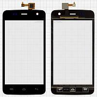 Touchscreen (сенсорный экран) для Explay Vega, черный, оригинал