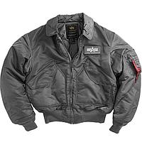 Куртка летная CWU 45/P Alpha Industries (gun metal), фото 1