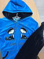 Костюм велюровый женский Birlik 8241 ,размер М
