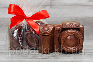 Шоколадный фотоаппарат Nikon для девушки