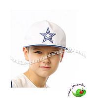 """Кепки, бейсболки детские оптом. Бейсболка для мальчика """"Элвин джинс"""" р.50-52, 54-56 см. осталось 2шт"""