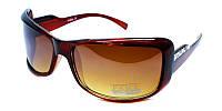 Коричневые женские очки от солнца