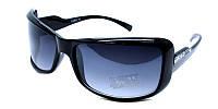 Черные женские очки солнечные