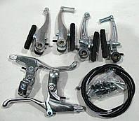 Тормоза V-brake, комплект (алюминиевые)