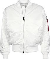 Оригинальная летная куртка Alpha Industries MA-1 (белая)