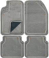 Коврики PVC with NBR \ съемный войлок TS2212P GY 5штук \ комплект,  73x50\ 50x55\ 26x60, Vitol , Швеция