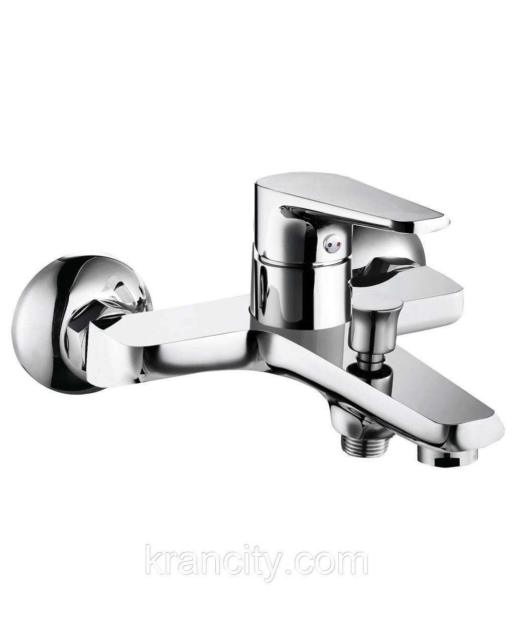 BARKA cмеситель для ванны однорычажный, хром, IMPRESE 10265,Чехия