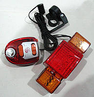 Мигалка многофункциональная: сигнал, повороты, стопы, модель 608