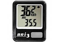 Велокомпьютер Stels Bri 3 - 10 функций (черный)